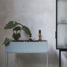 Ferm Living Plant Box - dusty blue (hellblau) - Ferm Living