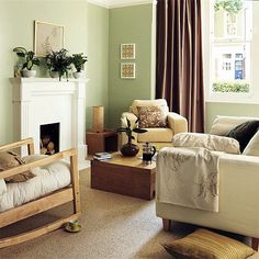 Simple, contemporary living room created on a budget | housetohome.co.uk