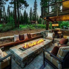 27 Easy Diy Bbq Fire Pit Ideas Anyone Can Make 2019 Outdoor patio with rectangular firepit The post 27 Easy Diy Bbq Fire Pit Ideas Anyone Can Make 2019 appeared first on Backyard Diy. Backyard Patio Designs, Backyard Landscaping, Landscaping Ideas, Backyard Seating, Patio Ideas, Pergola Patio, Diy Patio, Firepit Ideas, Pergola Kits