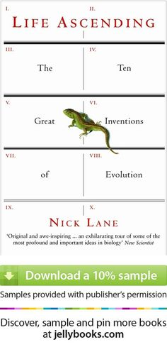 This book is not for creationists. Instead it chronicles the 10 giant evolutionary leaps that resulted in life on earth as we know it. Well written and a lovely read. 'Life Ascending' by Nick Lane - Download a free ebook sample and give it a try! Don't forget to share it, too.