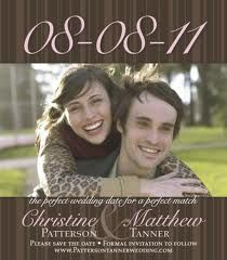 fun and informative save the date