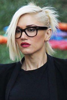 Gwen Stefani. ◈ Gafas ● Lunettes ● Eyeglasses ◈ by Arros Caldos