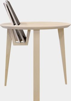The smart sidetable CO1 with a new innovative design, designed by cabinet makers and designers Carl Jonson and Olof Larsson.