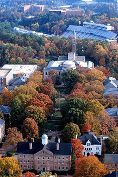 UNC-Chapel Hill---one of my Momma's favorite places.  Been here several times and even considered transferring after I spent two years at Meredith College.