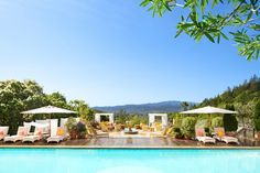 Auberge du Soliel, Napa Valley California | Wine Country | Pool | Getaway | Vacation | Magellan Luxury Hotels