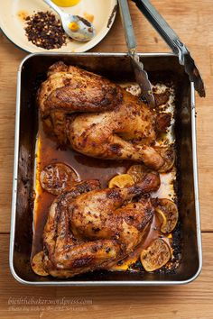 Peri Peri chicken with roasted potatoes [recipes]