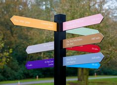 Dorchester Collection wayfinding from &Smith