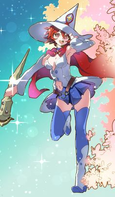 Little Witch Academia, Shiny Chariot, by Toriol 3
