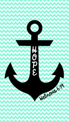 FREE Hope is an anchor... iPhone Wallpaper | MySunWillShine.com
