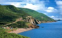 Cape Breton, Nova Scotia, Canada - my home. I miss you Cape Breton! Love the music, love the awesome people, love the scenery! Beautiful Places To Visit, Oh The Places You'll Go, Wonderful Places, Nova Scotia Tourism, Cap Breton, Cabot Trail, Atlantic Canada, Honeymoon Destinations, Honeymoon Planning