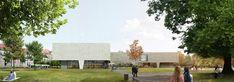 Galeria de Proposta finalista para o Museu Bauhaus faz uma ponte entre a cidade e o parque - 1