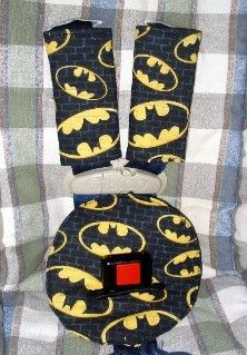 Belly Pad And Car Seat Belt Strap Covers Fits Britax Batman