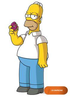 Homer Simpson.  Os Simpsons - Domingos 20h  #OsSimpsons  Confira conteúdo exclusivo no www.foxplay.com
