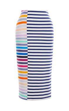 Shop Peggy Stripe Skirt by Tanya Taylor for Preorder on Moda Operandi
