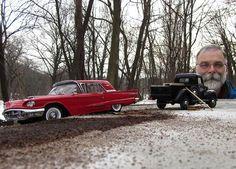 Perspective Forcée – Les photos de voitures miniatures