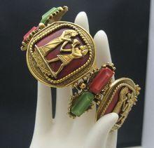 Egyptian Revival Bracelet Stunning