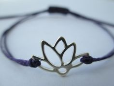 Hey, I found this really awesome Etsy listing at https://www.etsy.com/listing/94259081/sterling-silver-lotus-flower-bracelet