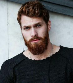 I really just like looking at this awesome red beard! Are you looking for some advice on how to grow a beard naturally? Then we have some excellent tips that will for sure work out for you. Red Beard, Beard Look, Ginger Men, Ginger Beard, Beard Styles For Men, Hair And Beard Styles, Conditioner For Men, Red Hair Men, Redhead Men