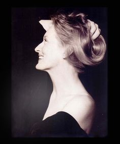 Meryl Streep by Herb Ritts via Carla Loves Photography