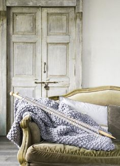 Amazing #weareknitters blanket by my friend Clara #knitting. Where are my knitting needles!!!
