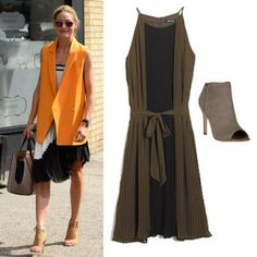 Boots and Skirts: Olivia Palermo