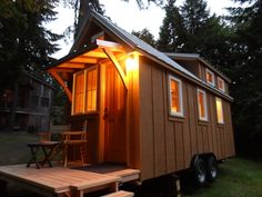 3 Tiny Houses With Big Style by Oregon Cottage Company - The owner of Oregon Cottage Company doesn't just build these great tiny houses, but he's also an active…