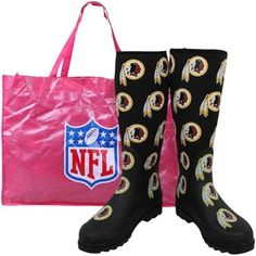 Washington Redskins Boots for Those Rainy Game Days!