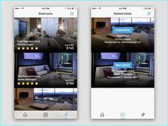 20 Example of Hotel App UI Design for Inspiration