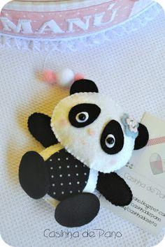 Panda - felt