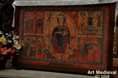 Maiestas Mariae del frontal de Santa María de Coll del Monasterio de Vich