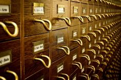 card catalog  #library #photography