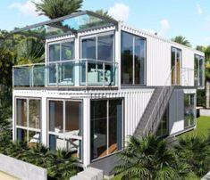 Neazealand Standard Luxury Modular Prefabricated Container House