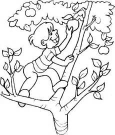 apples coloring sheets yahoo image search results - Apple Tree Coloring Page
