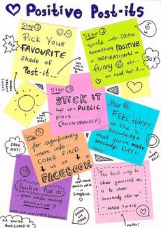 Positive Post-its - love this one!!