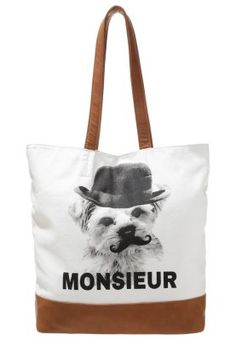 Shopping Bag - white/black/light grey Even And Odd, Shopping Bag, Reusable Tote Bags, Grey, Black, Outfit, Style, Fashion, White Bags
