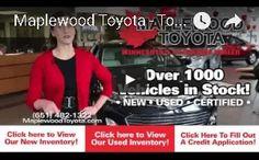 Maplewood Toyota Dealership Video