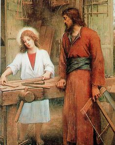 St Joseph and Jesus - training