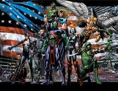 Justice League of America •David Finch