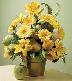 Sugared Fruit & Floral Arrangement