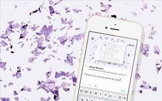 Send Confetti + Pieces of Art to anyone with Punkpost