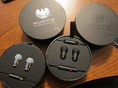 Munitio. 9mm earphones.