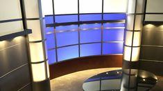 TV Set Design for a Broadcast Studio