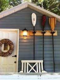 Image result for life jackets boathouse storage