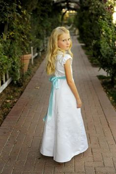 Make a baptism dress from your wedding dress