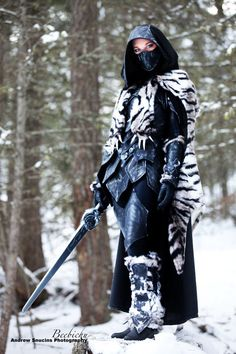 nightingale cosplay | SKYRIM - Nightingale Armor Cosplay — GeekTyrant