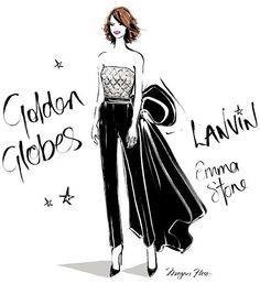 Celebrity fashion illustrations that are almost as good as the real thing