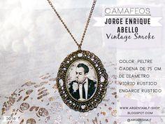 """Presentación Oficial de """"Argentamlf SHOP"""" - Producto Propio y Exclusivo!... :D  • Camafeo """"Jorge Enrique Abello"""" - Vintage Smoke."""