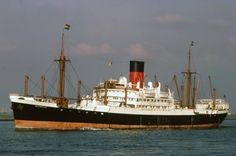 TSMV Glengyle (Built 1939). Requisitioned as HMS Glengyle and returned to Glen Line in 1948. In 1970 she was transferred to Blue Funnel Line and renamed Deucalion, Scrapped in 1971......a fine old lady of 32 years.