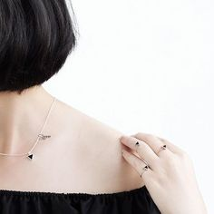 Blacktriangle set 🔻 Handmade silver 925 - Made in Vietnam  www.shimmersilver.com  #shimmersilver #shimmerstore