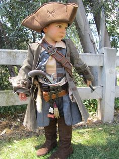 Child's Jack Sparrow Costume build - I think this will be my inspiration for Luke this year.